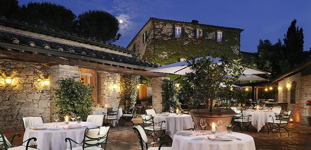 Vingård ved Montalcino