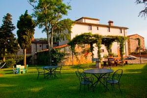 Leilighet ved vingård ved Firenze
