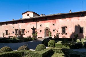 Vingård ved Greve i Chianti