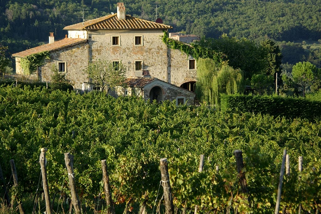 Vintur i Toscana