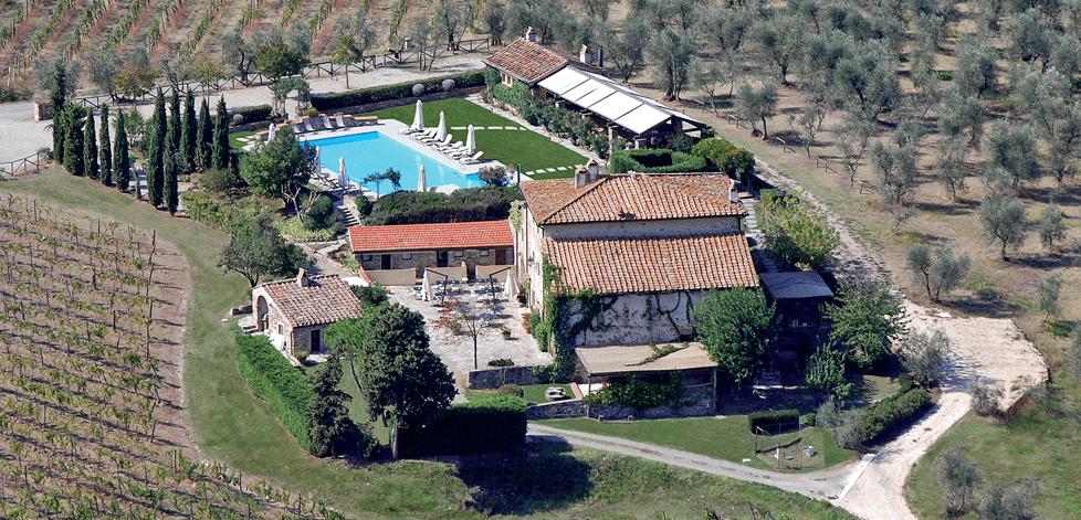 Vingård ved Firenze