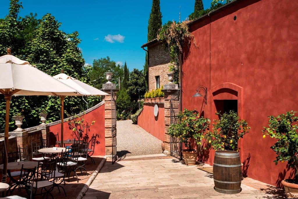 Hotell utenfor Siena