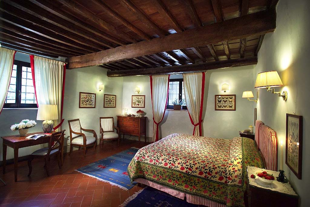 Historisk hotell i Chianti