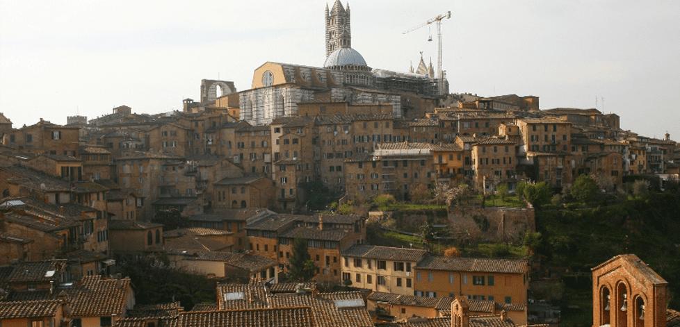 Historisk hotell i Siena