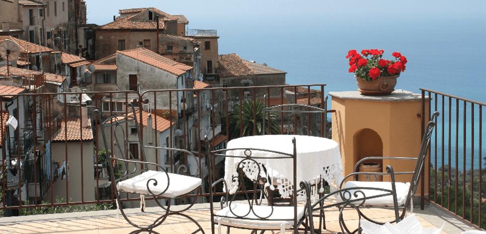 Historisk hotell i Pisciotta