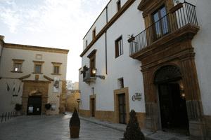 Historisk hotell i Marsala / Sicilia