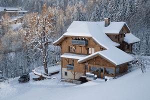 Villa og leiligheter i La Clusaz