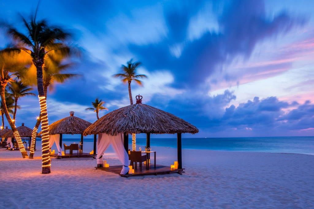 Romantisk hotell i Aruba