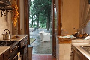 Feriehus på vingård ved Firenze