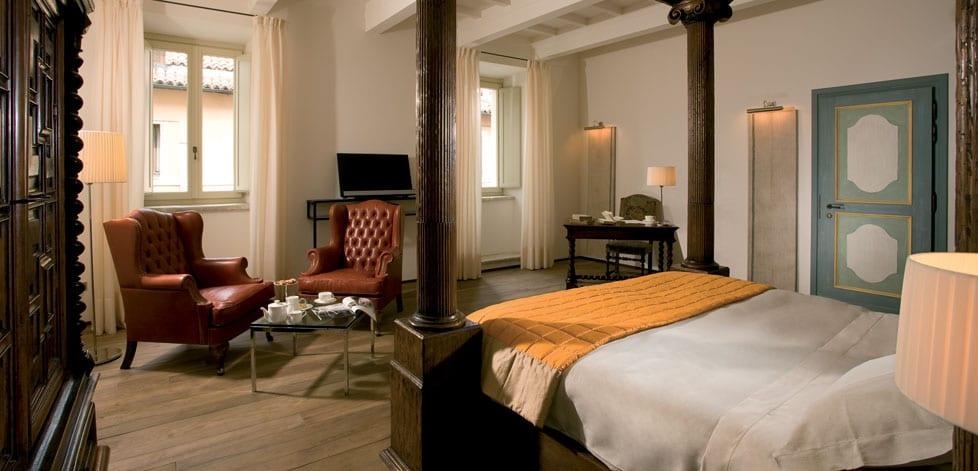 Historisk hotell i Norcia