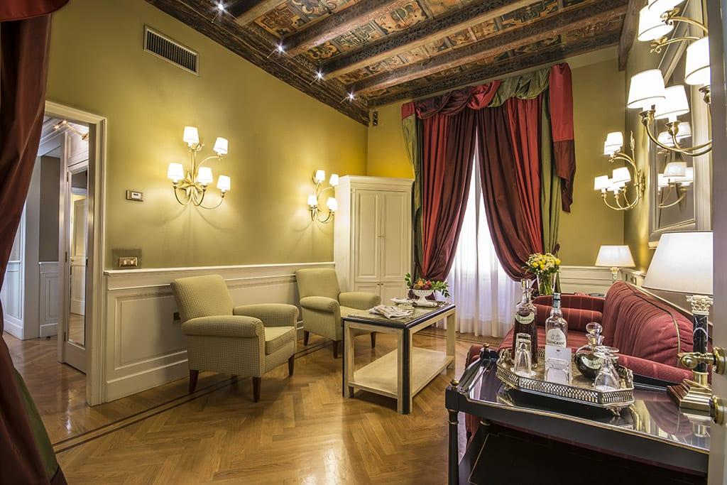 Historisk hotell i Bologna