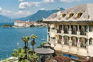 Hotell ved Stresa  – 5 stjerners hotell