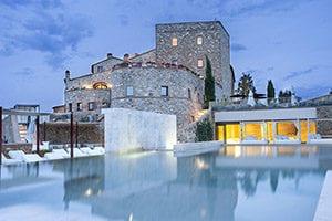 Slott ved Montalcino – 5 stjerners bosted
