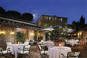 Vingård ved Montalcino – 5 stjerners hotell