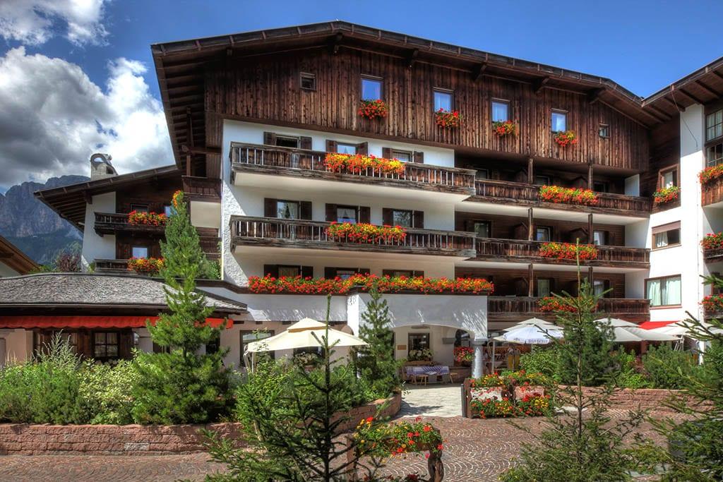 Alpe hotell i Corvara – Alta Badia Dolomittene