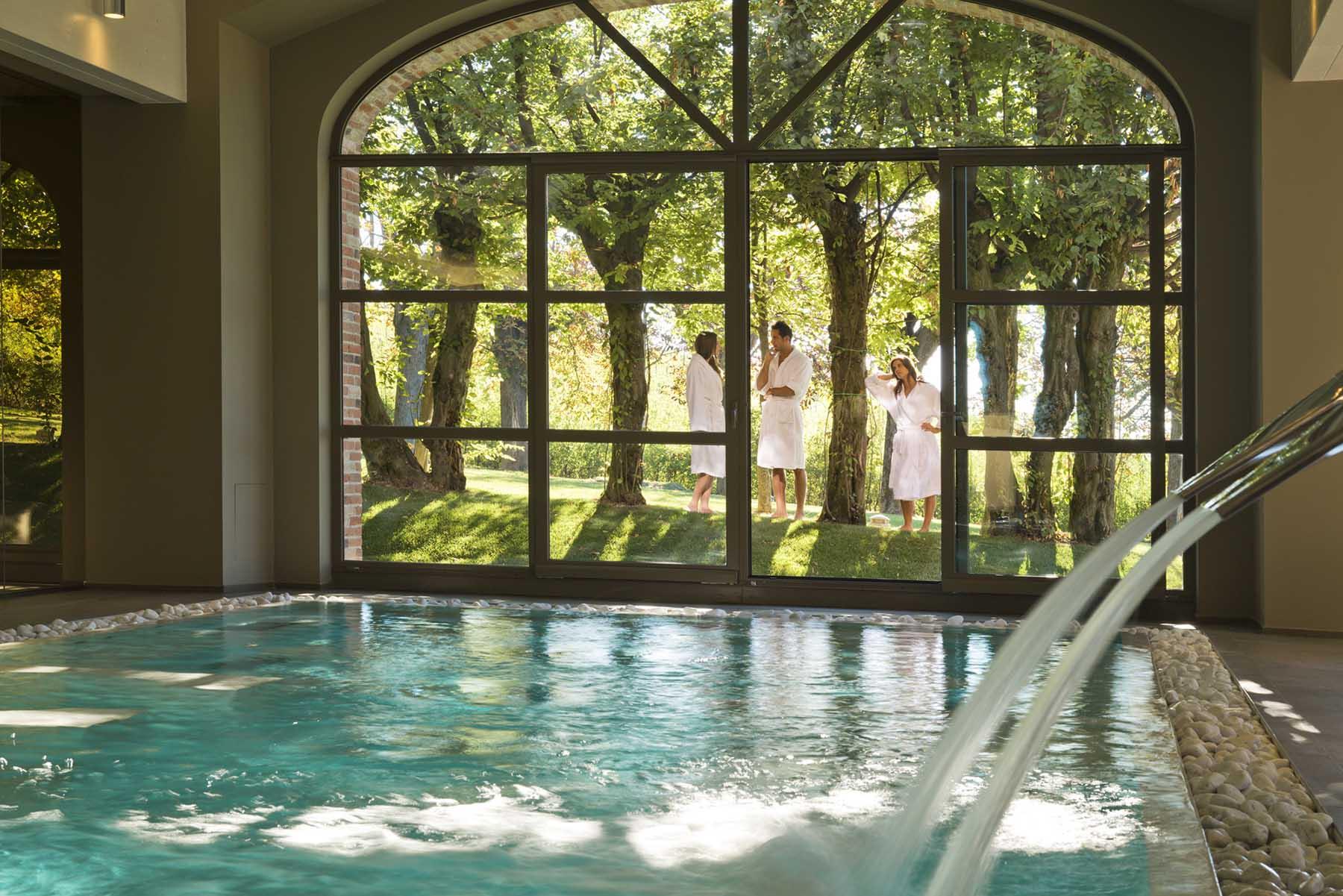 Vakkert hotell i Piemonte med lekre rom, Restaurant og Spa