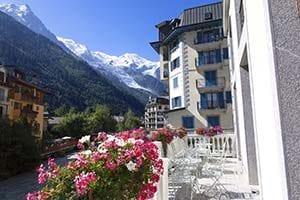 Alpe hotell i Chamonix